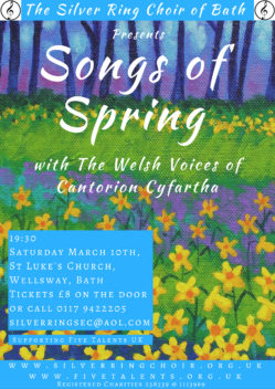 Songs of Spring with the Welsh Voices of Cantorion Cyfartha