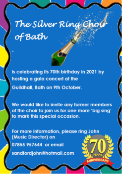Celebrating 70th birthday on 9th October 2021